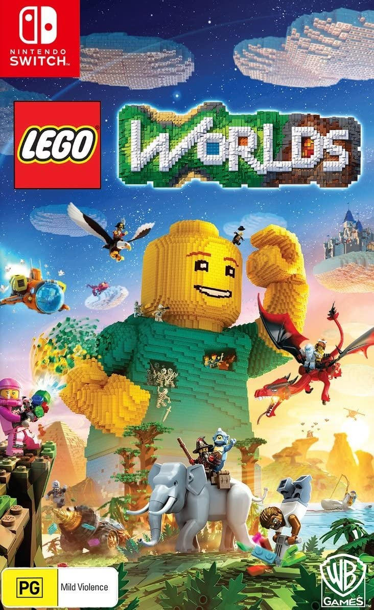 Lego Worlds (Switch): Amazon.es: Juguetes y juegos