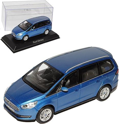 Norev Ford Galaxy Van Blau Metallic 3 Generation Ab 2015 1 43 Modell Auto Mit Individiuellem Wunschkennzeichen Spielzeug