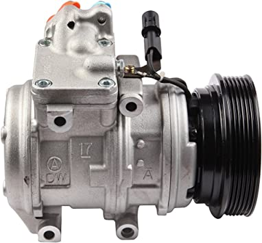 For Kia Rondo 2.4L 2007 2008 AC Compressor w//A//C Drier BuyAutoParts 60-88840R2 New