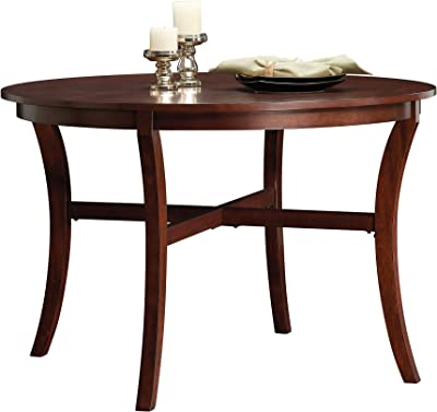 Sauder 418848, Dining Round Dinette Table, Select Cherry