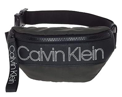 feinste Stoffe elegant im Stil großer Rabatt Calvin Klein Double Logo Waistbag Greystone