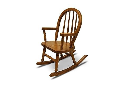 Amazon.com: weavercraft del Niño mecedora Amish Made ...