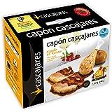 CASCAJARES - Medio Capón relleno de Foie, Orejones de Albaricoque y Piñones. Capón relleno