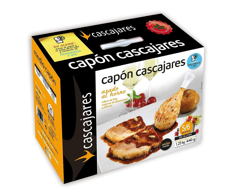 CASCAJARES - Medio Capón relleno de Foie, Orejones de Albaricoque ...