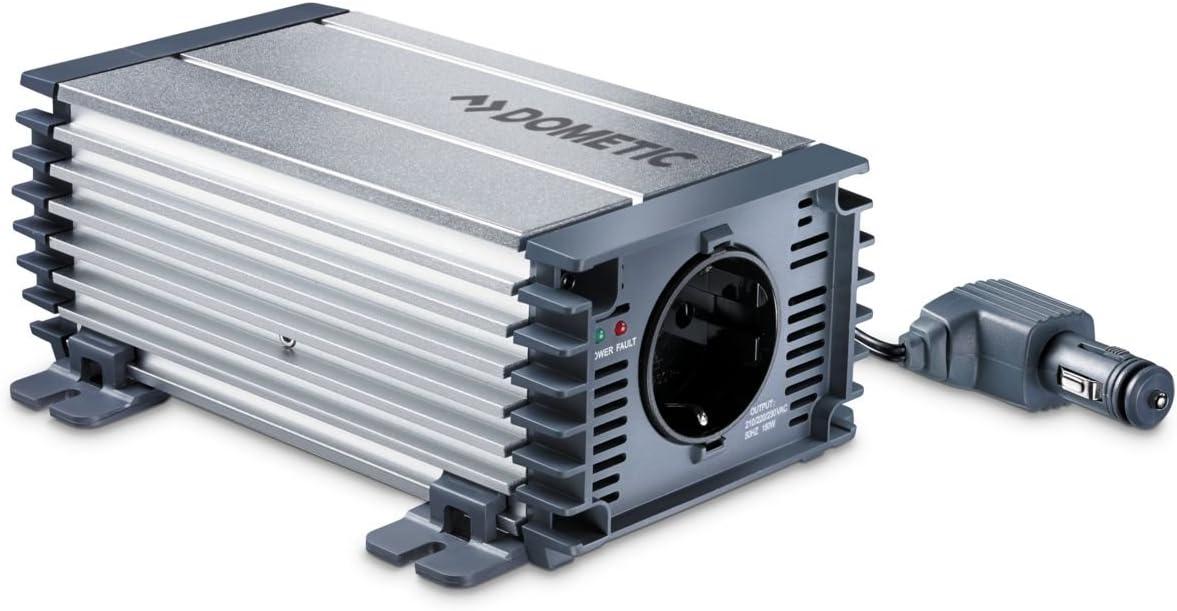 Dometic PerfectPower PP 152 - Inversor onda sinusoidal modificada, funcionamiento a 12 V, 150 W de potencia continua