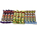 Pio Big Bazar Umaibo, Japanese Popular Snack Food, 12 Packs(3 Tasteã—4 Packs) No.A340