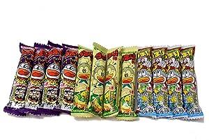 Umaibo, Japanese popular snack food, 12 packs(3 taste×4 packs) No.a340