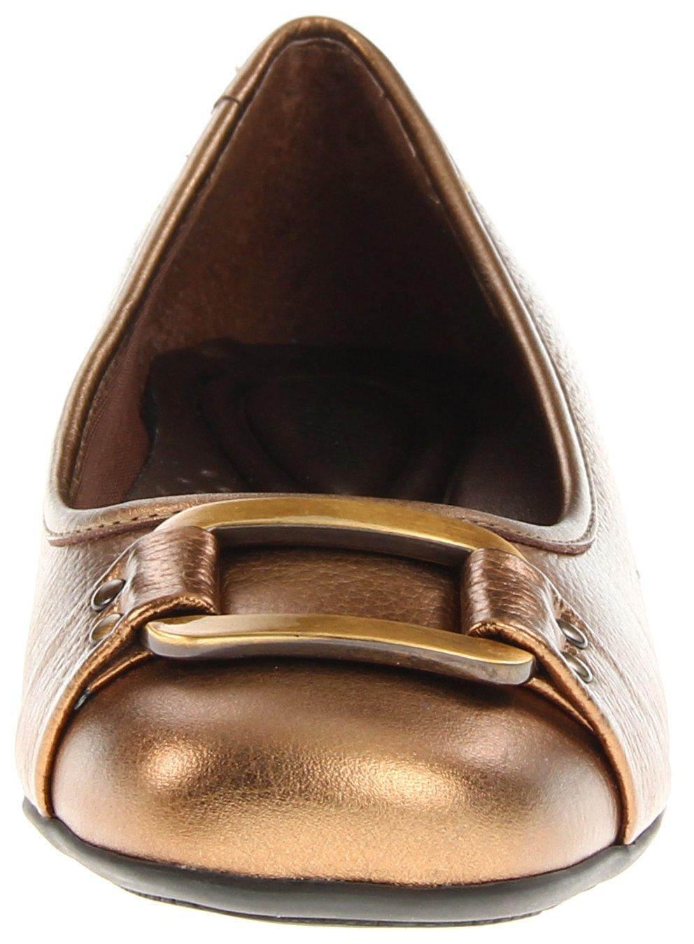 Trotters Women's Sizzle Signature W Ballet Flat B0073E65UA 6 W Signature US|Bronze 6d0817