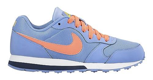 Nike MD Runner 2 (GS), Zapatillas para Niñas, Azul (Chalk Blue