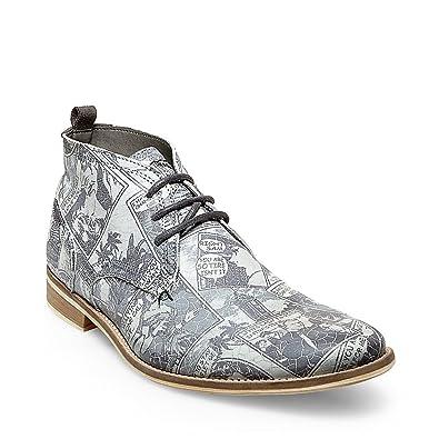 Steve Madden Men's Pharrell Grey Multi Boot 10 D ...