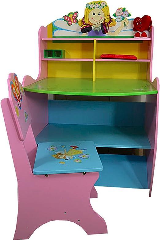 Antyki24 De Madera de los niños Sala de Estudio Mesa de Ordenador ...