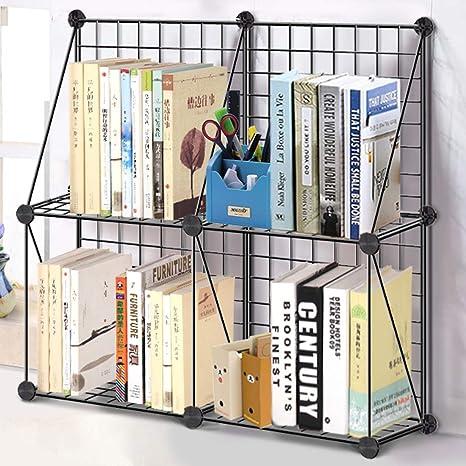 Cube Storage Shelves Rerii 4 Cube Wire Grid Organizer Shelf Kids