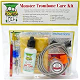 Monster Trombone Care and Cleaning Kit | Slide Cream, Slide Grease, Mouthpiece Brush. Everything You Need to Take Care…