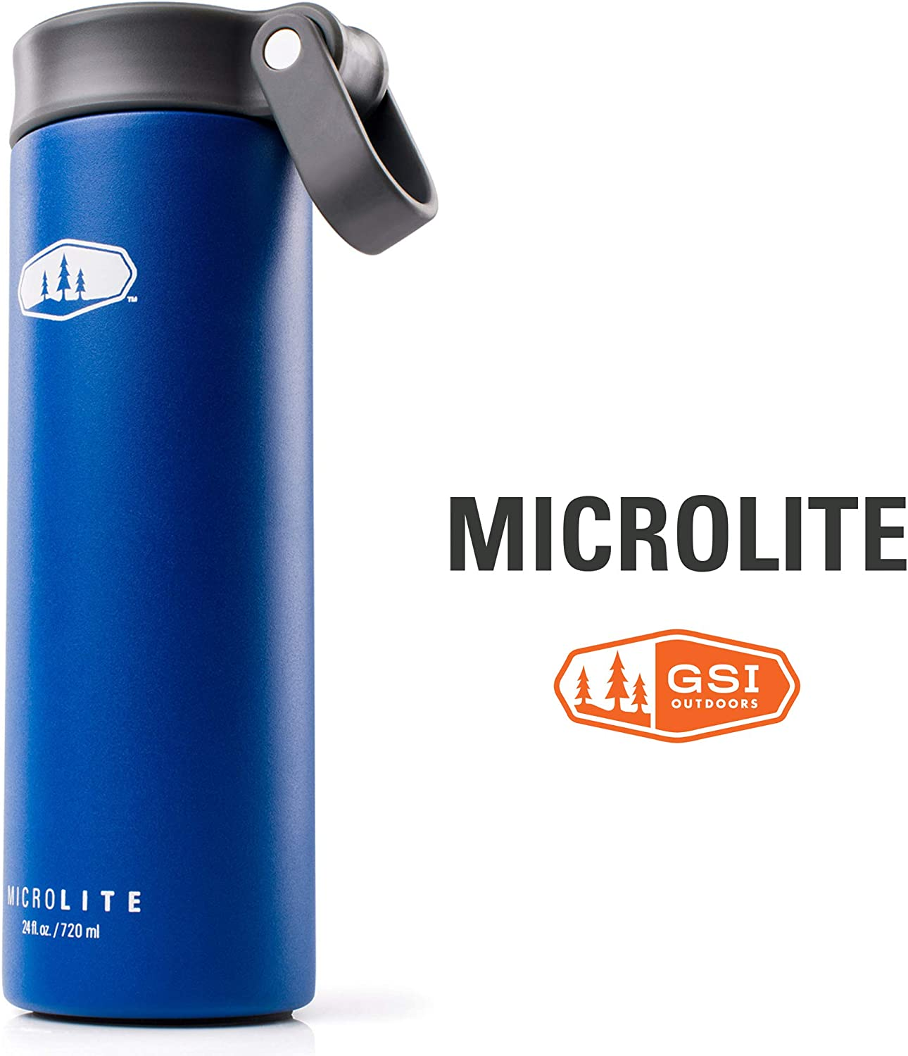 GSI Outdoors - MicroLite 720 Twist 24 fl.oz. Vacuum Insulated Stainless Steel Water Bottle
