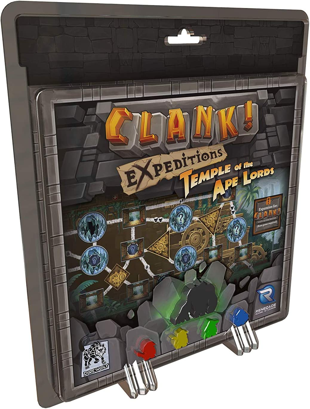 Renegade Game Studios Clank! Expeditions: Temple of The Ape Lords ...