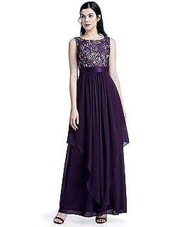 face797eae Ever-Pretty Women s Elegant V-Neck Sleeveless Formal Long Evening ...