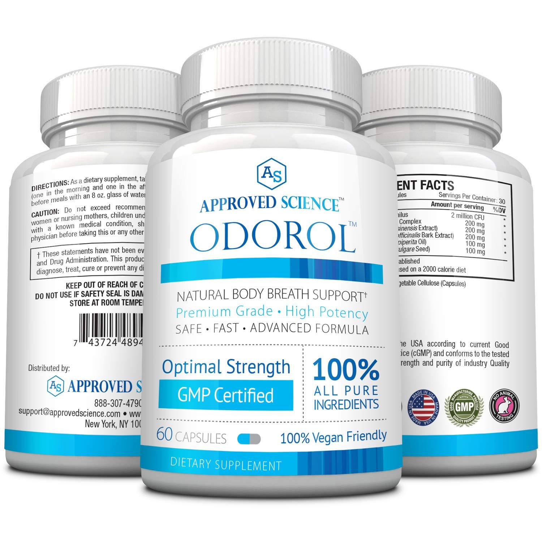 Odorol,3 bottle
