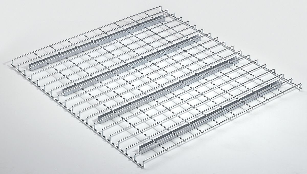 Nashville Wire - D4258AA3A1P - Steel Wire Decking used with Pallet Rack, 42D x 58W, Zinc