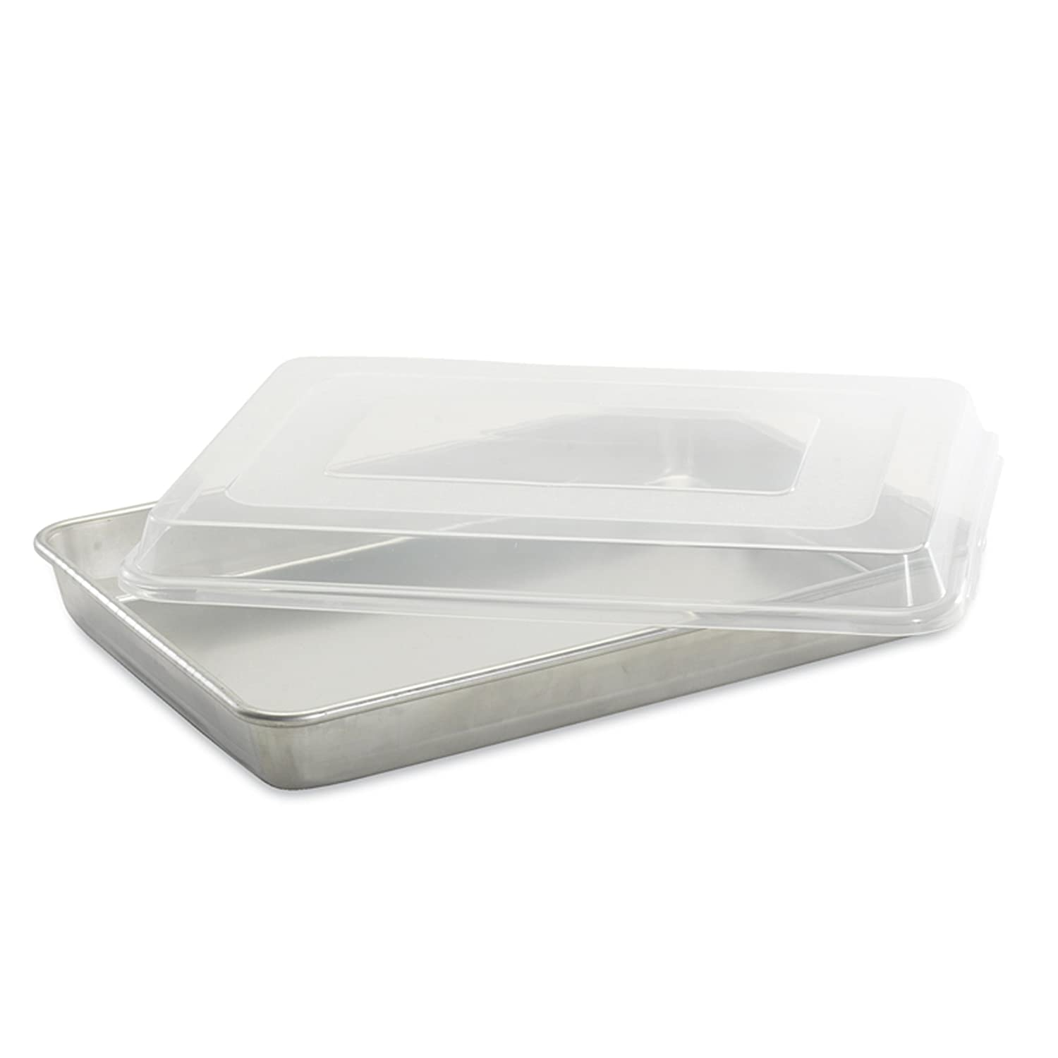 Nordic Ware Natural Aluminum Commercial Hi-Side Sheet Cake Pan 44700
