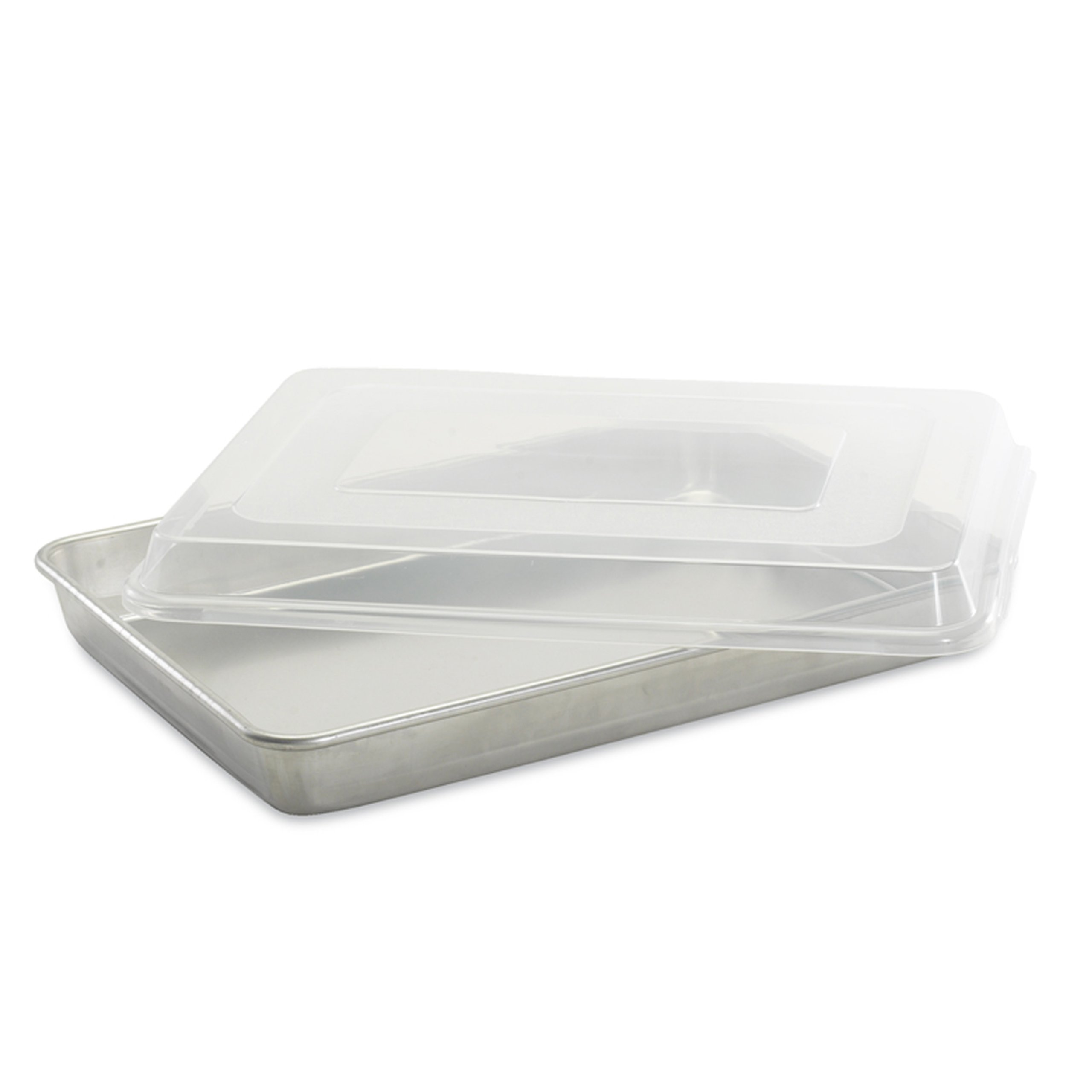 Nordic Ware Natural Aluminum Commercial High-Sided Sheet Cake Pan with Lid by Nordic Ware