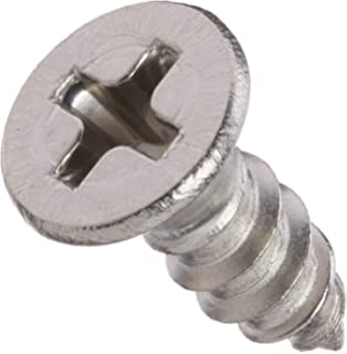 Passivated Finish #2-28 Thread Size 18-8 Stainless Steel Thread Rolling Screw for Plastic Pan Head Pack of 100 Star Drive 3//16 Length