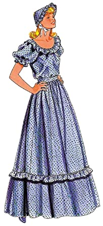 pioneer woman clothing. pattern pioneer dress 2 pc small costume woman clothing p