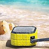 CRDCsmart Bluetooth Speakers Wireless Portable Rechargeable 800mAh Battery Play For 6 Hour Single Channel 5W Sport Speaker Waterproof IP65 Dustproof Shockproof Music Phone Speaker Outdoors (yellow)