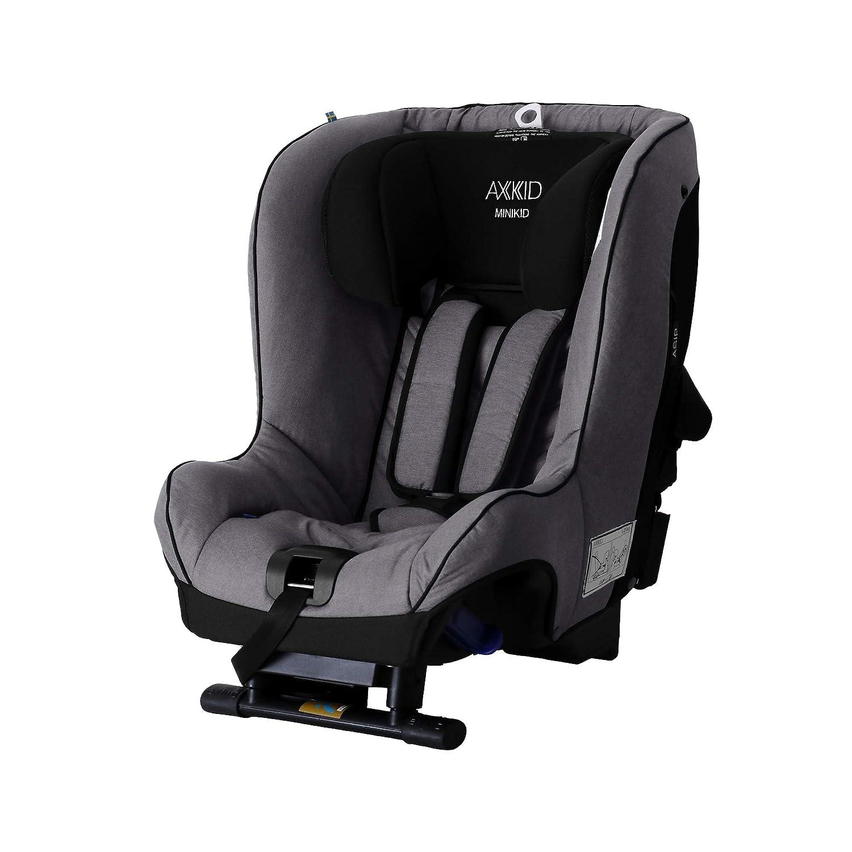 Axkid Minikid 2 Rückwärtsgerichteter Kindersitz Auto 0 25 Kg Reboarder Autositz Grau Baby