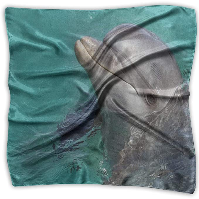 Xukmefat Pañuelo cuadrado Hipster Delfín Peces Submarino Mundo ...