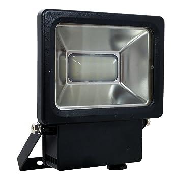 Tibelec 344420 First Proyector LED resina, 10 W, negro, 54 X 130 X ...