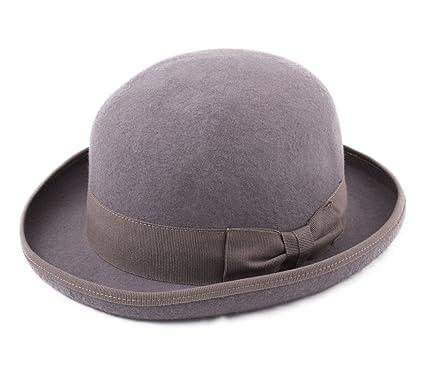 cc432d3f Classic Italy Melon Wool Felt Bowler Hat at Amazon Men's Clothing store: