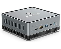 Mini PC AMD Ryzen 5 | 16 GB RAM 512 GB SSD | Radeon Vega 8 Graphics | Windows 10 Pro | Intel WIFI5 BT 5.1 | 4K HDMI/Display/U