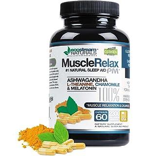 Amazon.com: Relajante Muscular pastillas – Tongkat Ali ...