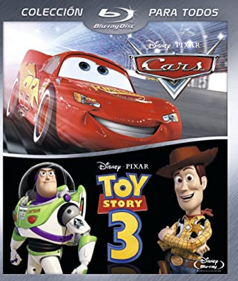 Pack Toy Story 3 + Cars Toon: Los cuentos de Mate Blu-ray: Amazon ...