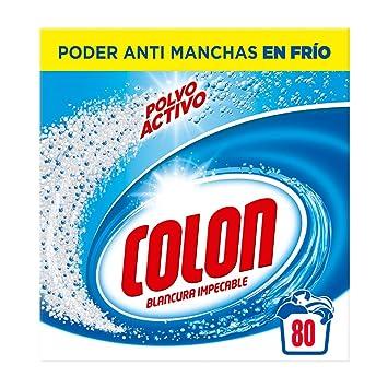 Colon Detergente en Polvo Activo 80 dosis: Amazon.es: Alimentación y bebidas