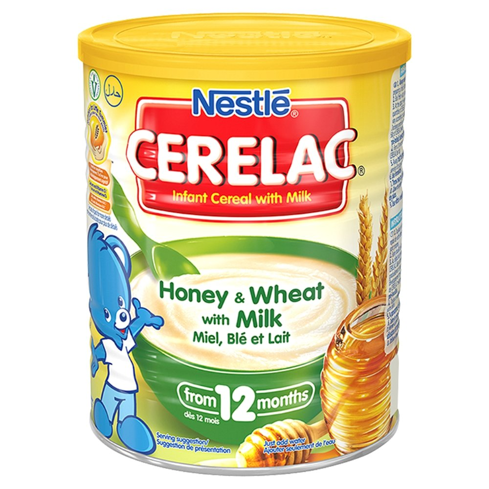 Cerelac Infant Cereal Honey and Wheat with Milk, 400 g Nestle 105252466