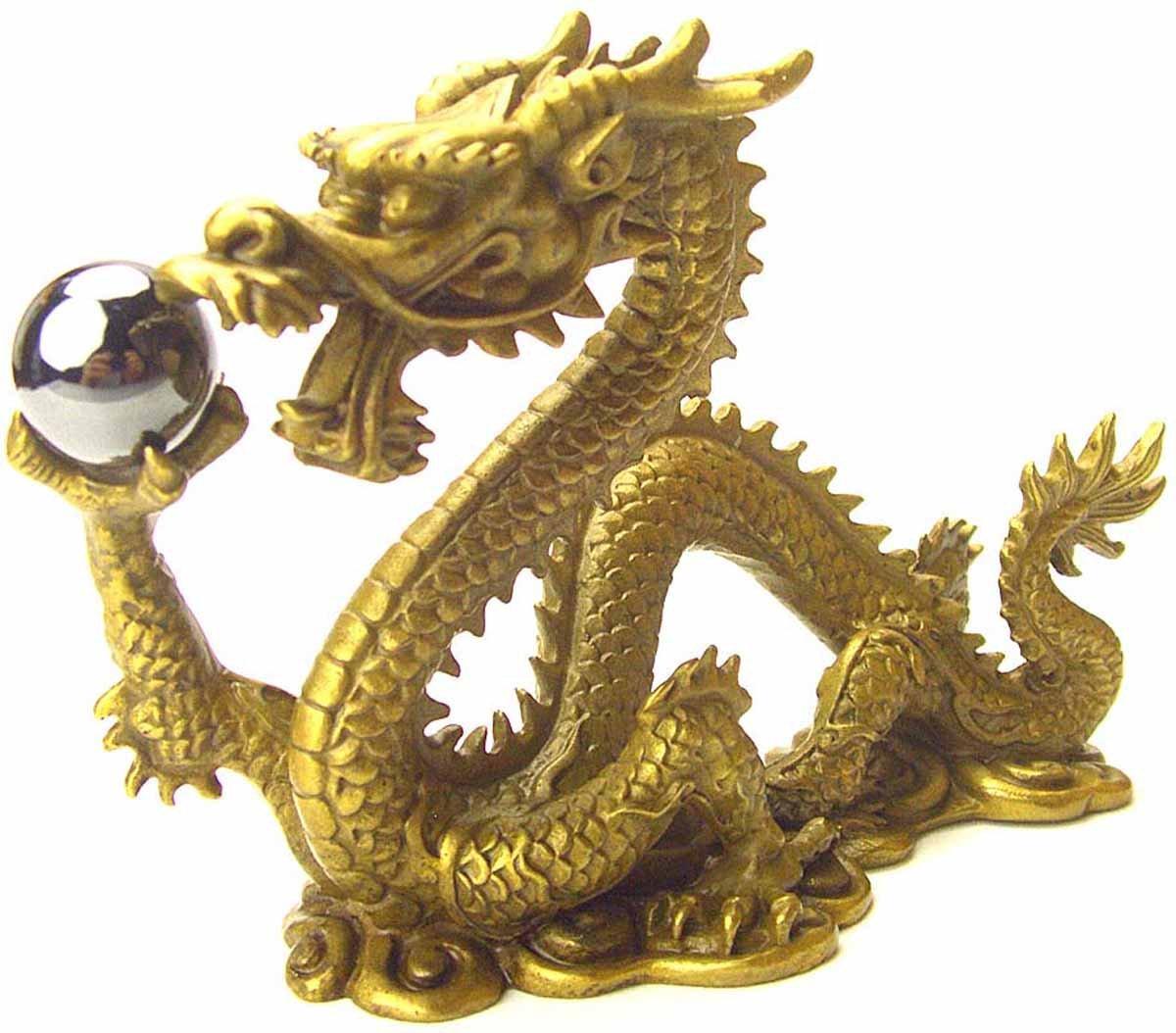 風水の皇帝龍五本指の願い龍(銅製) ヘマタイト付き 勝負運 B002KAP7Y2