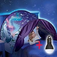 XPartner Enfant Pop Up Dream Tente lumière de Nuit Ice Snow étoile Tente