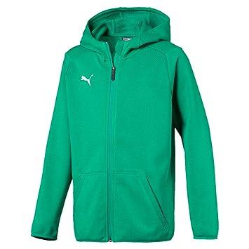 Puma Children s Liga Casuals Hoody Jacket  Amazon.co.uk  Sports ... 20f2cb4f52