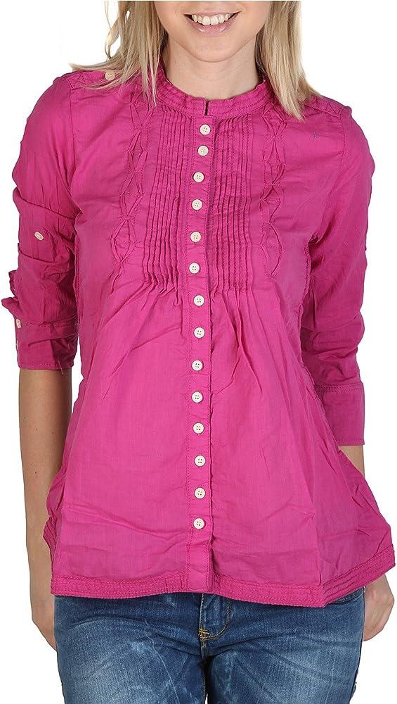 Alcott Korean CF719DO_C454 - Blusa para mujer, talla S, color fucsia: Amazon.es: Ropa y accesorios