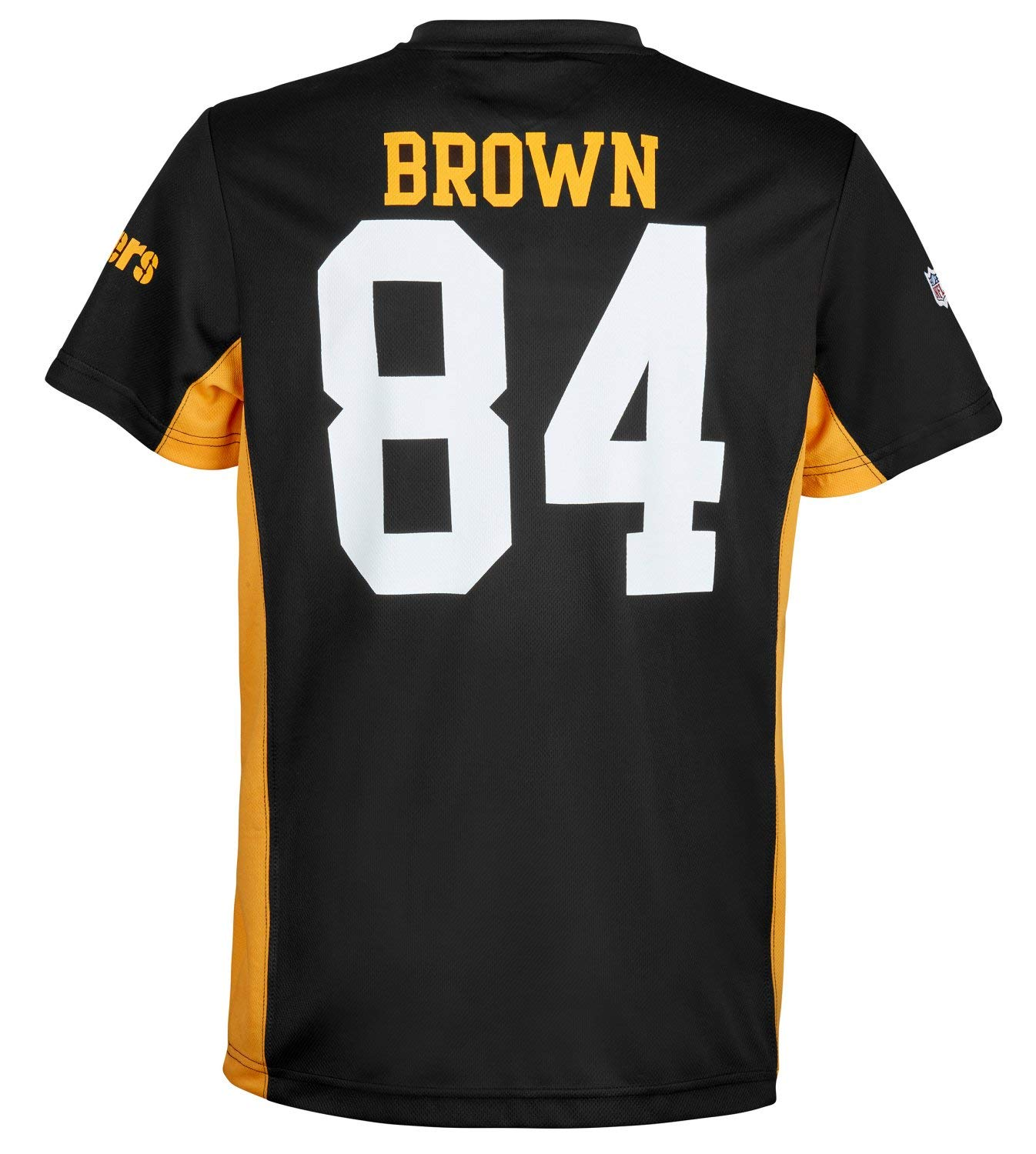 6ea61738834 Fanatics NFL Pittsburgh Steelers Antonio Brown  84 Polymesh Name Number  Shirt Jersey Trikot  Amazon.de  Sport   Freizeit