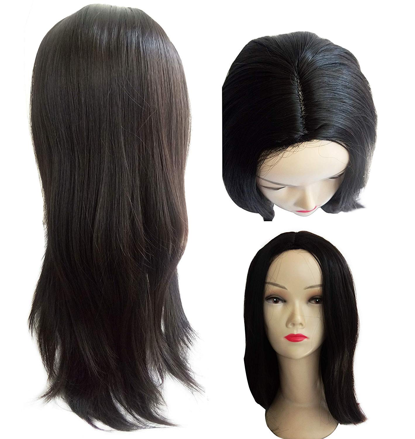Click to open expanded view Foreign Holics Full Head Hair Wigs long 24 Inches Natural Color