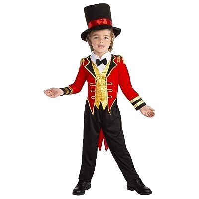 Toddler Circus Leader Ringmaster Costume: Clothing