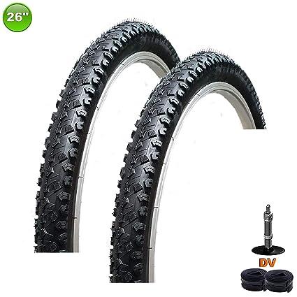 2 X Maxxi4you Neumático de la Bicicleta Abrigo Cubierta 26 X 2.125 ...