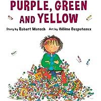 Purple, Green and Yellow - Mini Book
