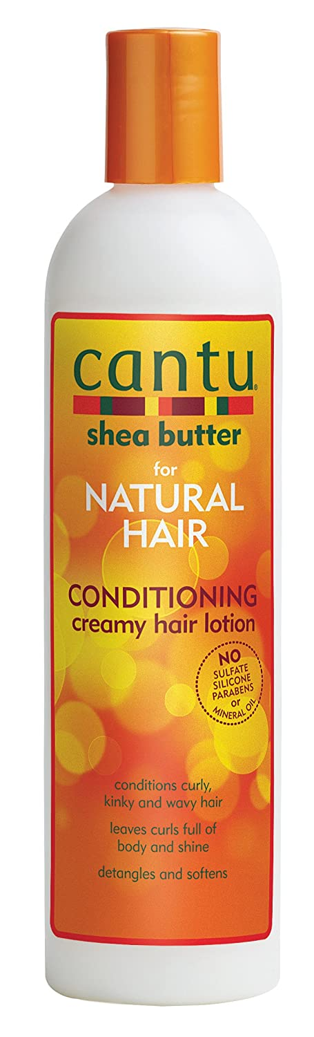 Cantu Shea Butter for Natural Hair Conditioning Creamy Hair Lotion, 12 oz 07001-12/3PK