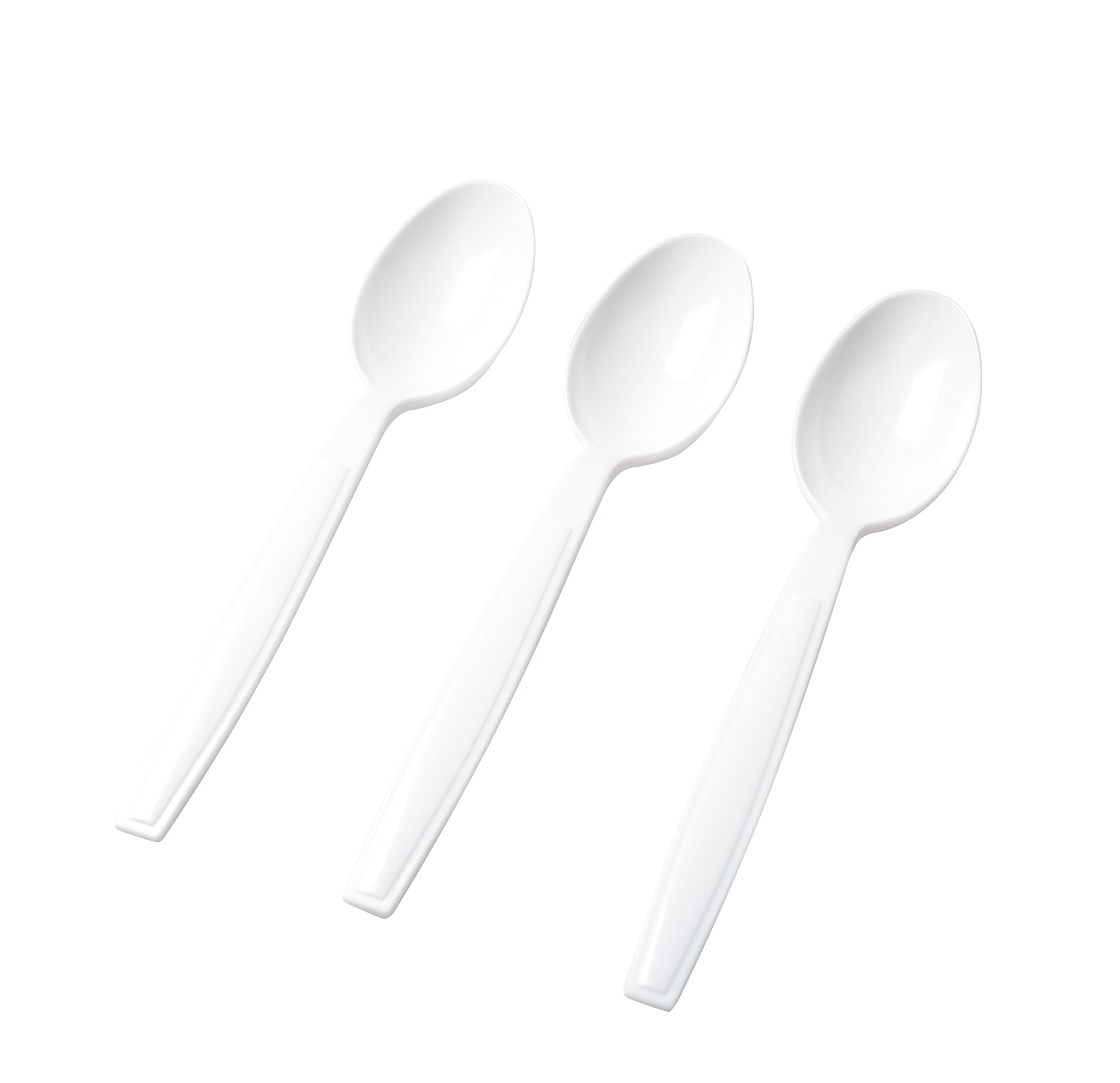 Fineline Bulk Spoons (Case of 1000), White by Fine-line