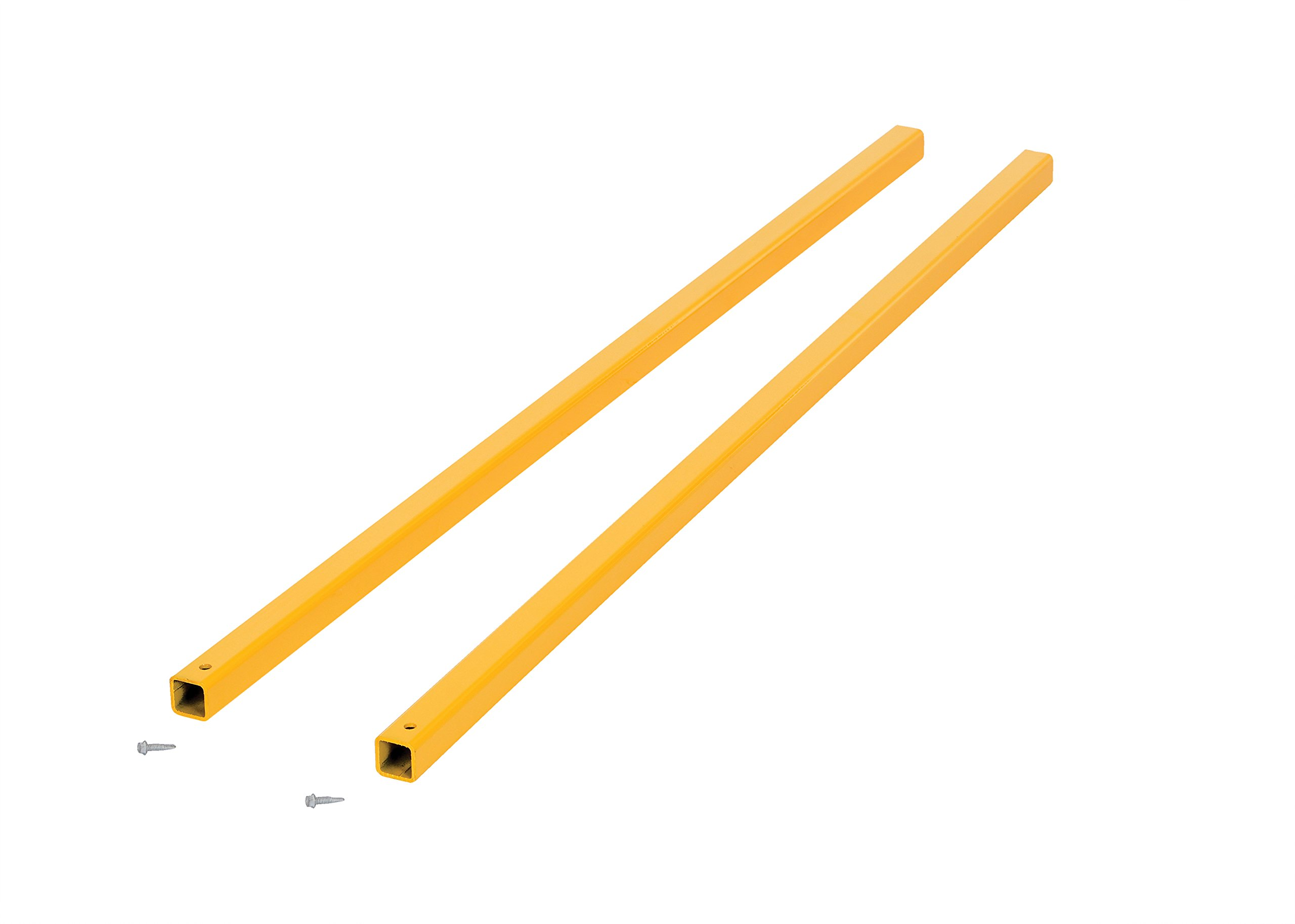 Vestil CSEC-48 Connection Tubing for Steel Square Handrails, 48'' Length x 1-1/4'' OD (Pair)