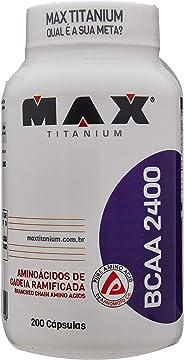 BCAA 2400 - 200 Cápsulas, Max Titanium