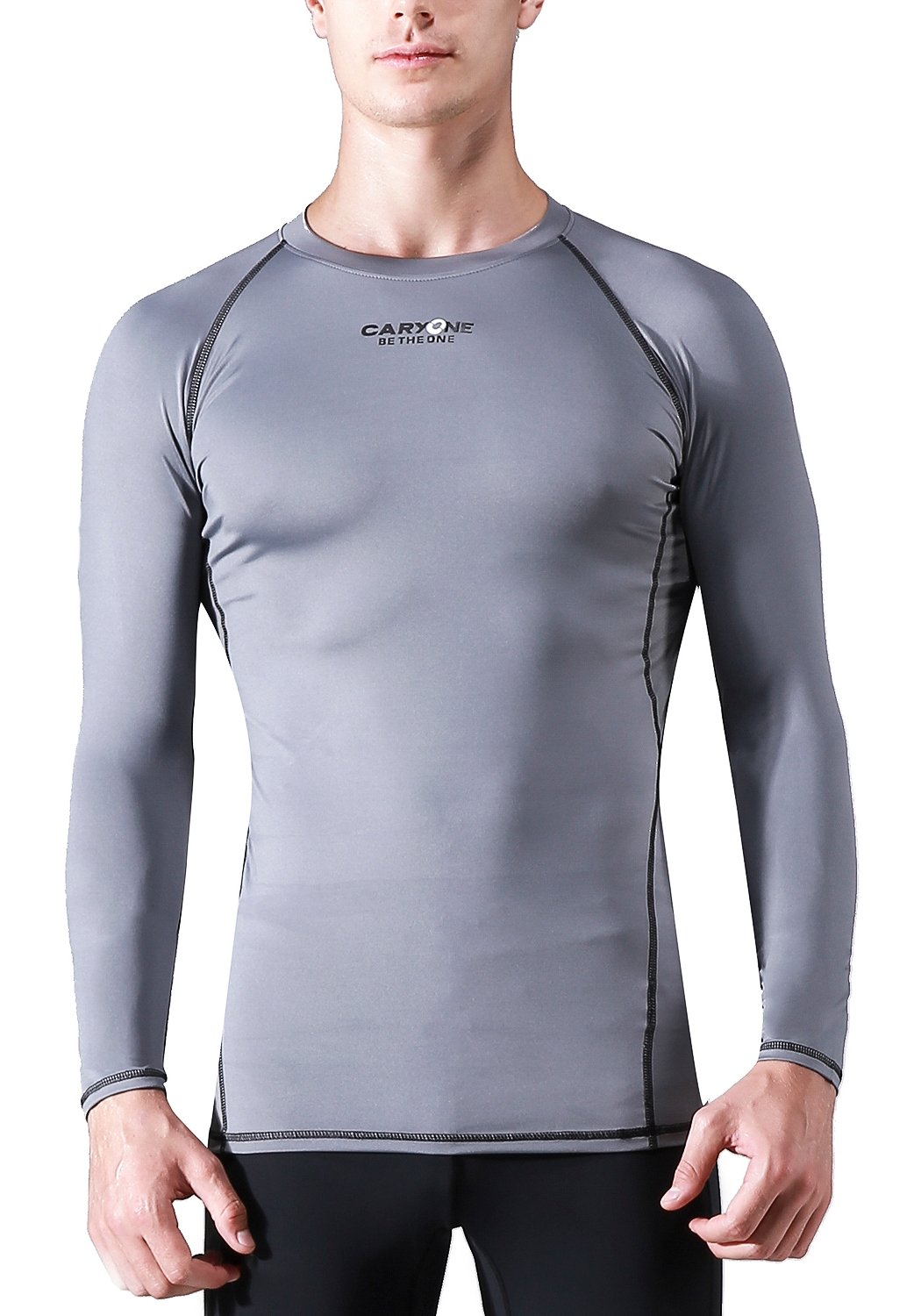CARYONE Quick Dry Skin Fit Long Sleeves Compression Shirt